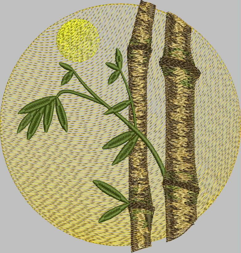 бесплатная программа вышивки бамбук от промосфера