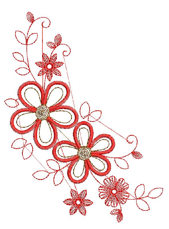 бесплатная программа вышивки цветок 1 от промосфера
