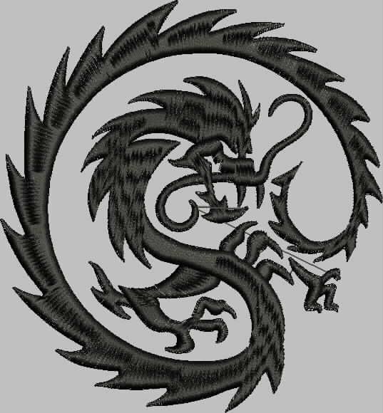 бесплатная программа вышивки дракон от промосфера