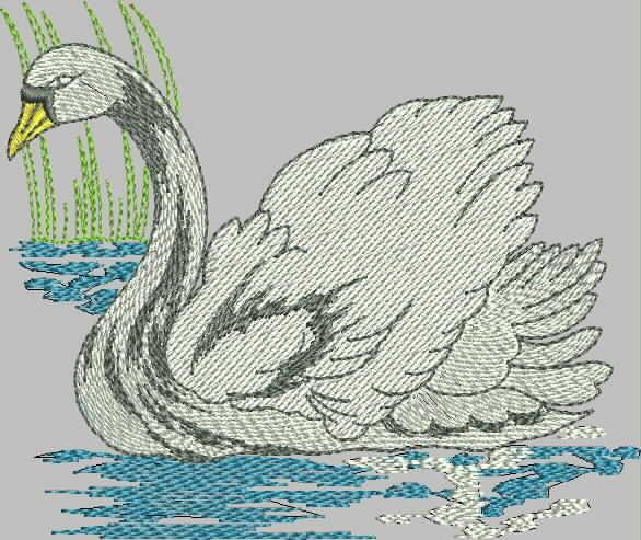 бесплатная программа вышивки лебедь от промосфера