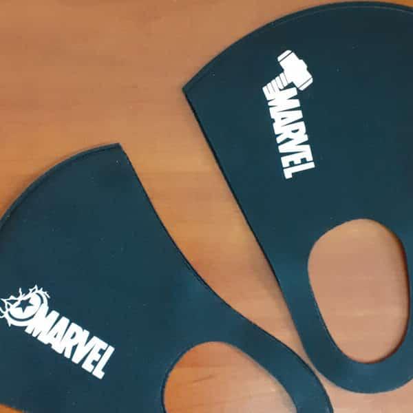 нанесение логотипа на многоразовые маски киев промосфера