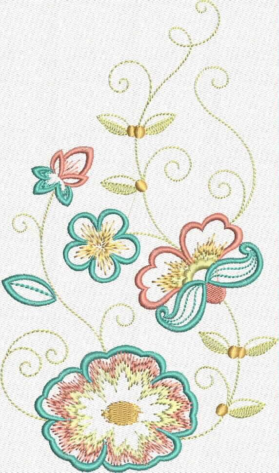 бесплатная программа машинной вышивки цветок 2 промосфера