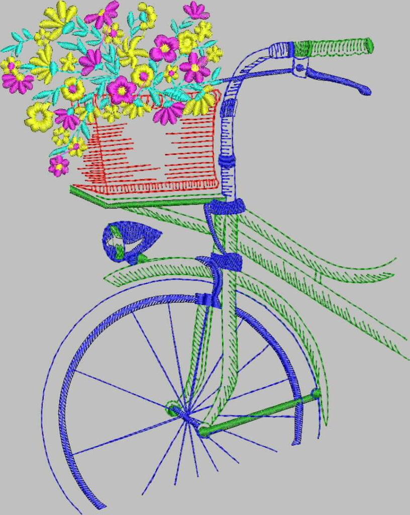 бесплатная программа машинной вышивки велосипед промосфера